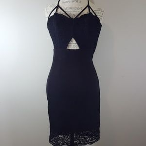 Express size 2 new with tag little black dress